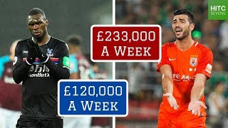7 Worst Footballers on Over £100,000 a Week (2019)