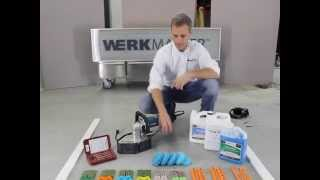 Great How To Training Video on Removing Epoxy Paint and Polishing Concrete Floor