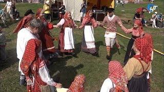 Мелодии и танцы из глубины веков в очередной раз оживил фестиваль музыкальных древностей «Словиша»