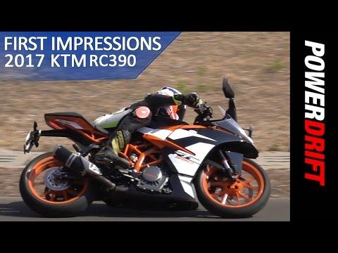 2017 KTM RC390 First Ride Impressions : PowerDrift