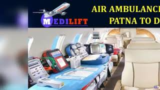 Get Phenomenal ICU Support Air Ambulance from Jabalpur to Delhi by Medilift