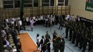 preview picture of video 'Ślubowanie klasy pierwszej Mundurowej'