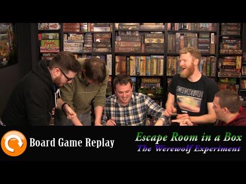 Board Game Replay - Escape Room in a Box