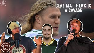 David Bakhtiari Shares A SAVAGE Story About Clay Matthews  | Bussin With The Boys #052