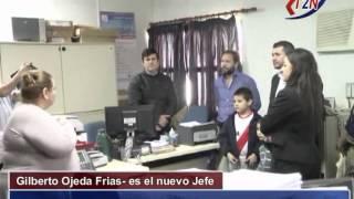 preview picture of video 'Se comunica el cambio de jefe en la oficina ANSES Ituzaingó  Tele 2 Noticias'