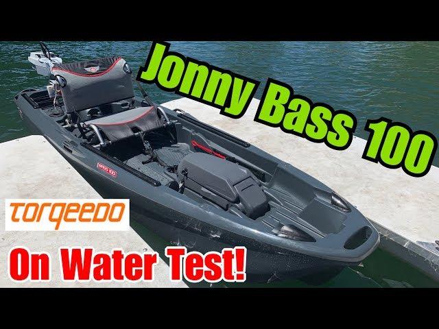 Jonny Boats Bass 100: On Water Test + Capsize!