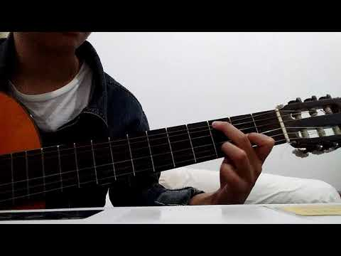 "Cover gitar ""Rindu - Dengarkan Dia"" ala #otodidak"