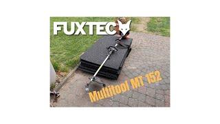 Fuxtec Motorsense Test - Review - Demonstration MT 152E Multitool Heckenschere Wildkrautbürste
