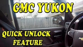 GMC Yukon Quick Unlock feature you may not know about