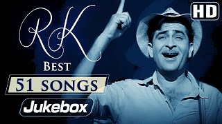 Ultimate Raj Kapoor 51 Songs Video JUKEBOX (HD) | Evergreen Old Hindi Songs
