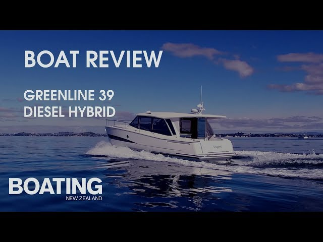 Boat Review - Greenline 39 Hybrid with Sarah Ell