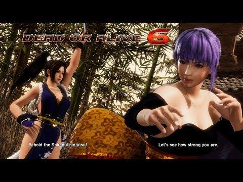 Dead or Alive 6 Mai Shiranui vs Ayane