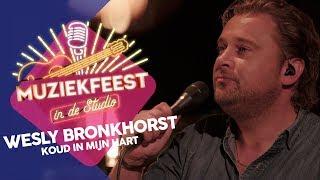 Wesly Bronkhorst   Koud In Mijn Hart   Live In Muziekfeest In De Studio 2019