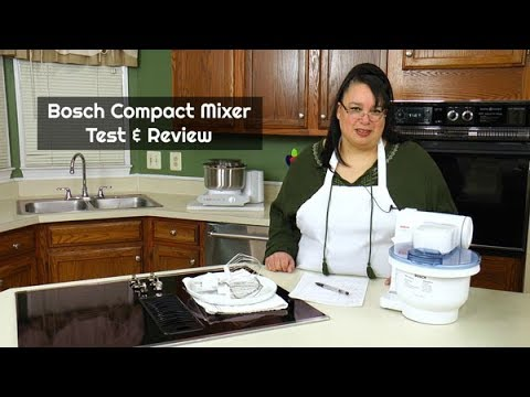 Bosch Compact Mixer Review MUM4405 ~ Stand Mixer Review ~ Amy Learns to Cook