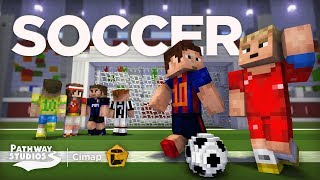 Soccer [Minecraft Marketplace] PLAY SOCCER IN MINECRAFT!