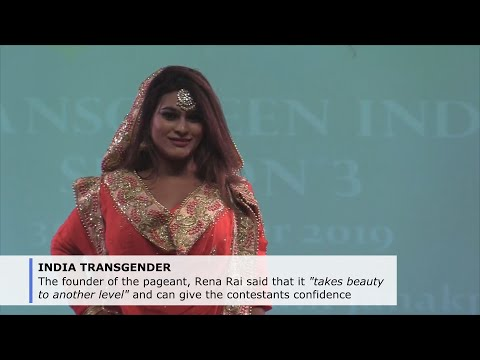 India pageant aims to promote transgender inclusion, acceptance