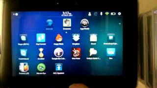 Android Market on BlackBerry PlayBook (rooted) Part 1