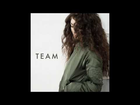 Lorde - Team video