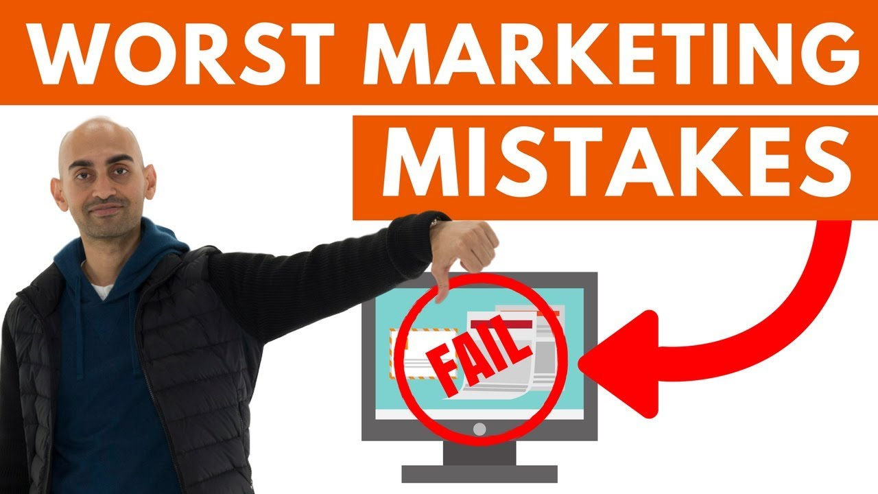3 Marketing Mistakes You Must Avoid
