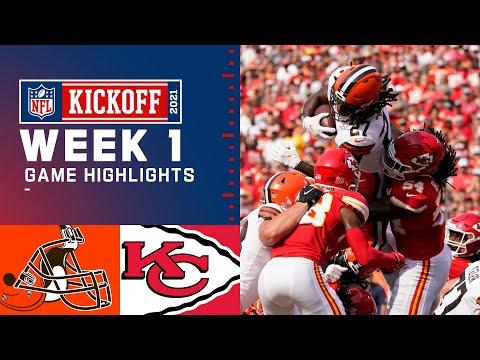 Browns vs. Chiefs Week 1 Highlights | NFL 2021
