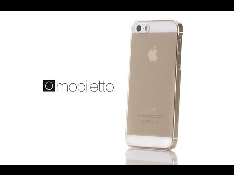 Mobiletto Apple iPhone 5 5s Hülle Crystal Clear Case