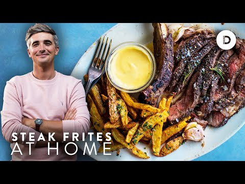 The PERFECT Steak & Chips – Reverse Sear Method!