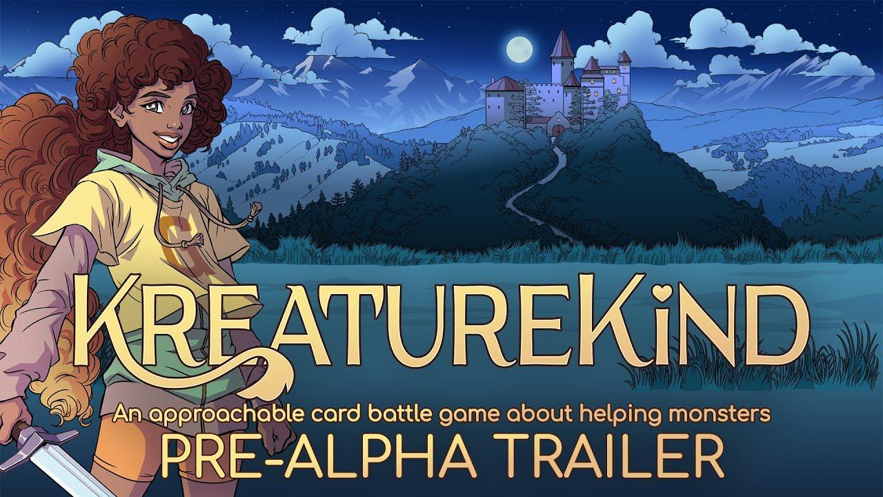 KreatureKing pre-alpha announcement teaser
