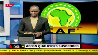 AFCON qualifiers suspended by CAF   SCORELINE