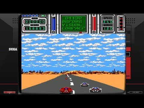 Fire & Forget II (Master System - Titus - 1990)