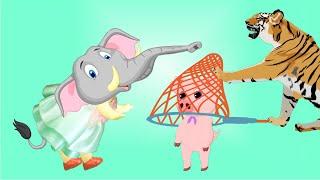 BabyBus - Tiki Mimi Thật nguy hiểm khi ăn Chiếc bánh biến hình tập 2