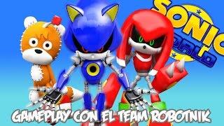 Sonic World: Gameplay con el Team Robotnik | Español