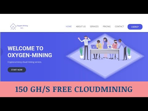Oxygen-mining.com отзывы 2019, mmgp, обзор, Cryptocurrency Cloud Mining, get Free 150 GH/s