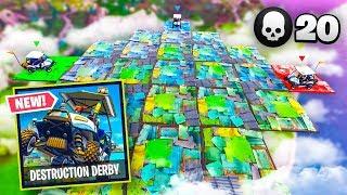 Destruction Derby *NEW* Custom Gamemode in Fortnite Battle Royale