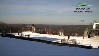 Ski Big Bear Time Lapse   Martin Luther King, Jr. Weekend