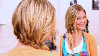 How to Fake A Braid!!