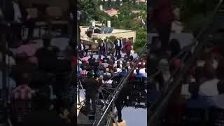 بالفيديو : هكذا شوشت سيدة فلسطينية على حفل نقل السفارة الأمريكية إلى القدس