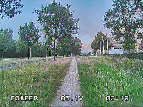 Foxeer Predator 4 - Uneditted DVR recording - Low Light Conditions