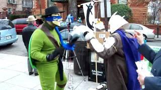 Anonymous DC: Ninja Turtle vs. Shredder