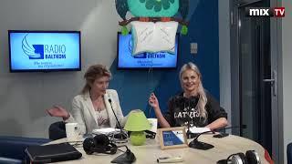 "Ксения Джонсен в программе ""Зеленая лампа"" #MIXTV"