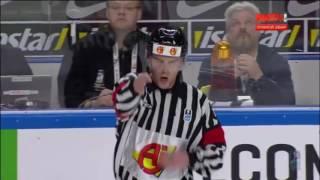 Россия-Латвия 5-0. Голы, драка. ЧМ-2017 по хоккею, Германия, 15 мая
