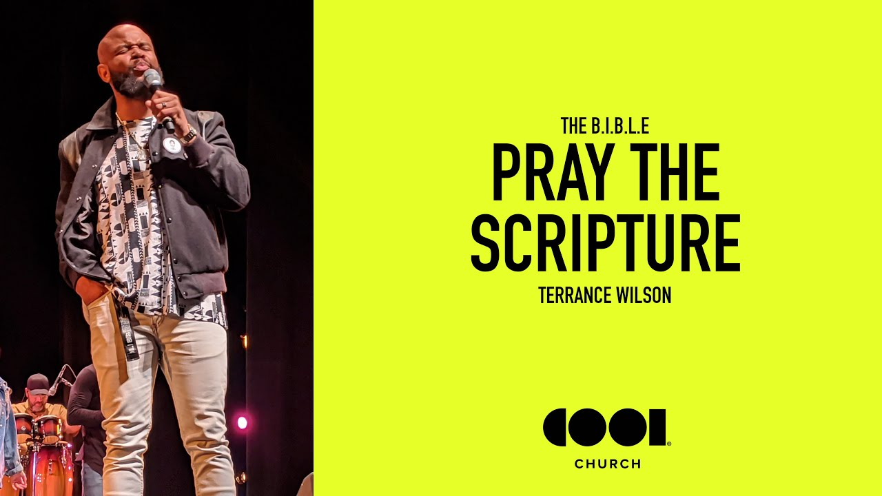 PRAY THE SCRIPTURE Image
