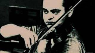Michael Rabin plays Tzigane by Ravel