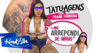 """Tatuagens com Fraan Ferreira – """"O Tatuador Perdeu o Desenho"""""""