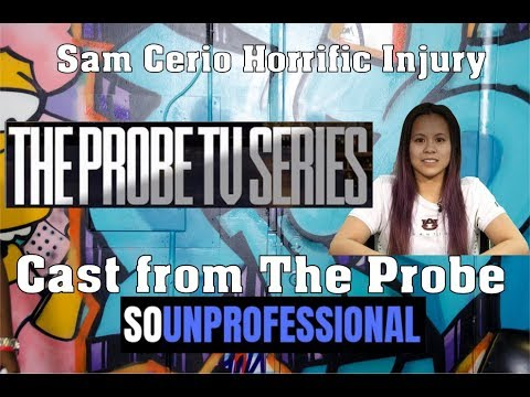 So Unprofessional: The Probe TV Series | Samantha Cerio Injury