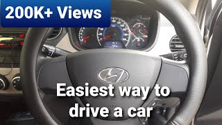 Car driving tutorial || For beginners || How to drive a car