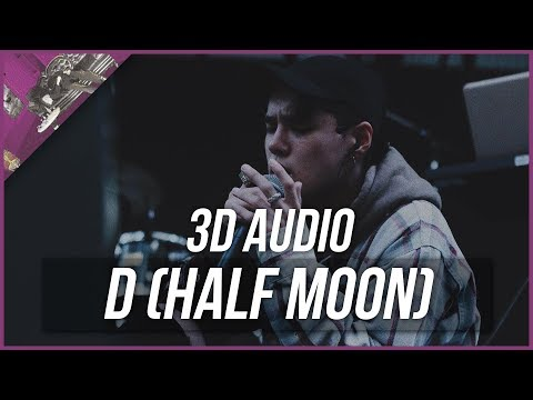 D (Half Moon) [feat. Gaeko] - Dean [3D Audio]