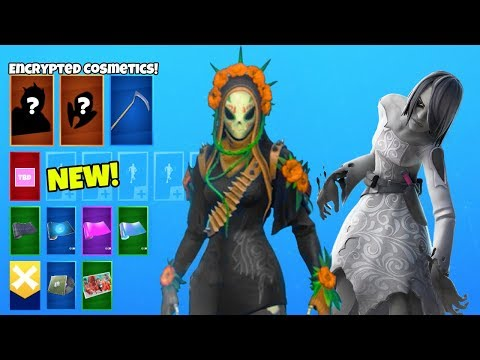 *NEW* Encrypted Skins..! (Scary Willow, The Final Reckoning LEAKED) Fortnite Battle Royale