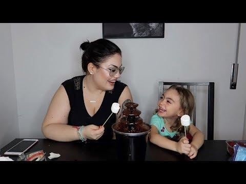 FONTANA DI CIOCCOLATA CHALLENGE / mamma e figlia / chiara paradisi