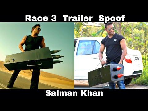 Race 3 Trailer Spoof || Salman Khan || OYE TV