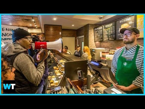 Is Starbucks Racist? Protesters Shut Down Store Where Black Men Arrested | What's Trending Now!